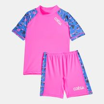 Coega Kids' Flamingo Two-Piece Swimsuit