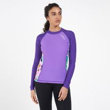 COEGA Women's Long-Sleeves Rashguard Top