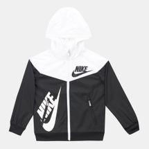 Nike Kids' Sportswear Full Zip Windrunner Jacket (Younger Kids)