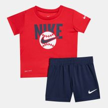 Nike Kids' Dri-FIT T-Shirt and Shorts Set (Older Kids)
