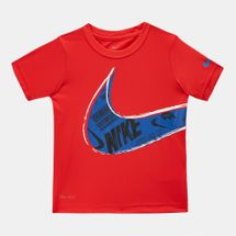 Jordan Kids' Muddy Swoosh T-Shirt (Younger Kids)