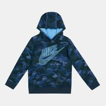 Nike Kids' Camo Futura Pullover Hoodie (Younger Kids)