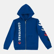 Converse Kids' Star Chevron Full Zip Hoodie (Younger Kids)