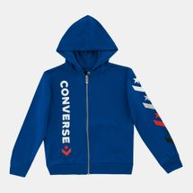 Converse Kids' Star Chevron Full Zip Hoodie (Older Kids)