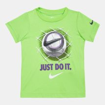 Nike Kids' 3D Futbol Just Do It T-Shirt (Baby and Toddler)
