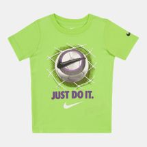 Nike Kids' 3D Football Just Do It T-Shirt (Younger Kids)
