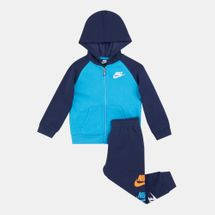 Nike Kids' Multi Furuta Full-Zip Jogger Set (Baby and Toddler)