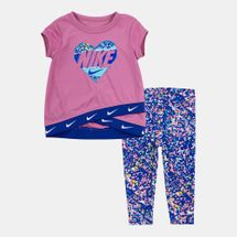 Nike Kids' Dri-FIT Tunic Top and Leggings Set (Baby and Toddler)