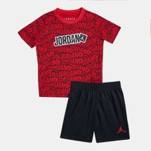 Jordan Kids' Stickers Mesh T-Shirt and Shorts Set (Baby and Toddler)