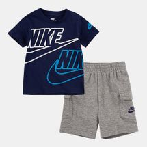 Nike Kids' Sportswear T-Shirt and Cargo Shorts Set (Baby and Toddler)