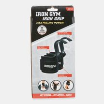 Iron Gym Iron Grip With Wrist Support - Black, 1273765