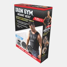 Iron Gym 10kg Adjustable Weighted Vest