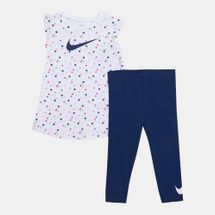 Nike Kids' Dot Tunic Top and Leggings Set (Baby and Toddler)