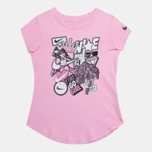Nike Kids' Sticker Pack Scoop T-Shirt (Baby and Toddler)