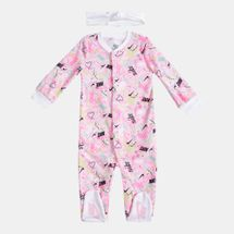 Nike Kids' Scribble Coverall Set (Baby and Toddler)