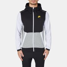 Nike Air Hybrid Fleece Full-Zip Hoodie Black