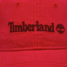 Timberland Logo Baseball Cap - Red, 261013