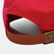 Timberland Logo Baseball Cap - Red, 261014