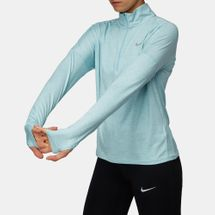 Nike Element Long Sleeve Half-Zip Running Top