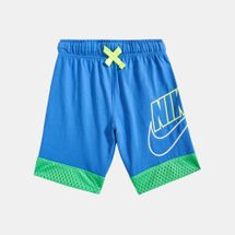 Nike Kids' Mesh Overlay Shorts (Younger Kids)
