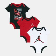 Jordan Kids' 23 Flashback Bodysuit (Baby and Toddler) - 3 Pack