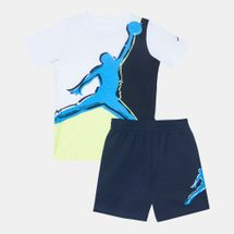 Jordan Kids' Paint Jumpman Muscle T-Shirt and Shorts Set (Baby and Toddler)