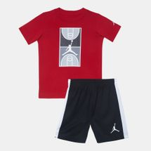 Jordan Kids' Graphic T-Shirt and Shorts Set (Baby and Toddler)