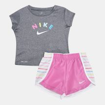 Nike Kids' Dri-FIT T-Shirt and Shorts Set (Baby and Toddler)