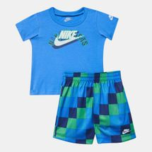 Nike Kids' Sportswear RTL T-Shirt and Shorts Set (Baby and Toddler)