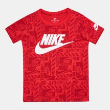 Nike Kids' Brand Toss Allover Print T-Shirt (Younger Kids)