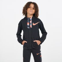 Nike Kids' Dri-FIT Graphic Hoodie (Younger Kids)