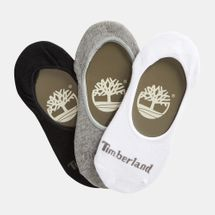 Timberland Organic Blend Cotton Liner Socks (3 Pack)