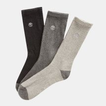 Timberland Organic Cotton Crew Socks (3 Pack)