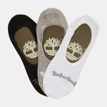 Timberland Organic Cotton Invisible Socks (3 Pack)