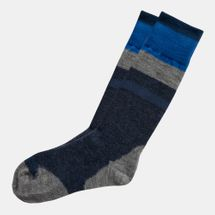 Timberland Merino Wool Blend Color Block Crew Sock