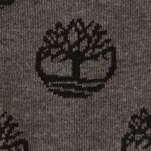 Timberland Men's Tree-Logo Pattern Crew Socks, 1655705