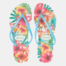 Havaianas Women's Slim Hibisco Flip Flops