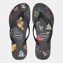 Havaianas Women's Slim Wild Flip Flops