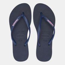 Havaianas Women's Slim Logo Flip Flops