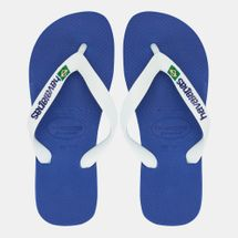 Havaianas Kids' Brasil Logo Flip Flops (Older Kids)