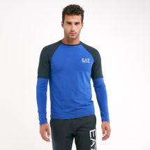 EA7 Emporio Armani Men's Blue Eagle Pack T-Shirt