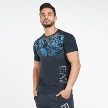 EA7 Emporio Armani Men's Train Visibility Graphic T-Shirt