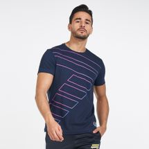 EA7 Emporio Armani Men's Train Graphic Series Big 7 Shaded T-Shirt