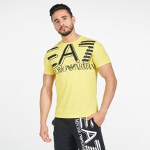 EA7 Emporio Armani Men's Train Oversize Logo T-Shirt