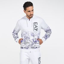 EA7 Emporio Armani Men's Train Visibility Graphic Sweatshirt
