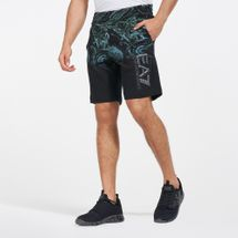 EA7 Emporio Armani Men's Train Visibility Graphic Shorts
