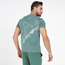 EA7 Emporio Armani Men's Train Double Logo T-Shirt