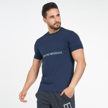 EA7 Emporio Armani Men's Training Logo Series Embossed T-Shirt