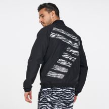EA7 Emporio Armani Men's Train Graphic Series Bomber Jacket