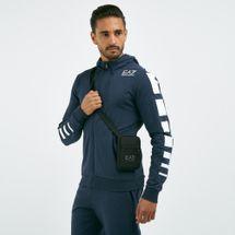 EA7 Emporio Armani Men's Mini Pouch Crossbody Bag - Black, 1720112